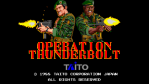 Operation Thunderbolt - Taito, 1988