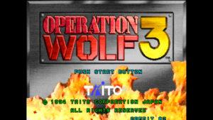 Operation Wolf 3 - Taito, 1994