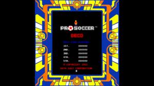 Pro Soccer - Data East, 1983