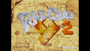Rail Chase 2 - Sega, 1994