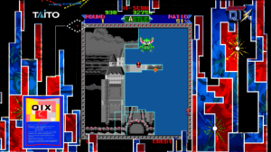 Super Qix - Taito, 1987