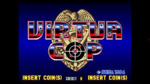 Virtua Cop - Sega, 1994
