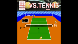 Vs. Tennis - Nintendo, 1984