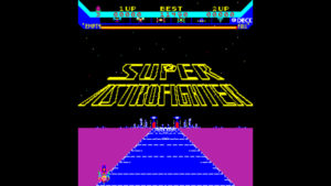 Super Astro Fighter - Data East, 1981