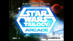 Star Wars Trilogy Arcade - Sega, 1998