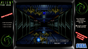 Alien 3, The Gun - Sega, 1993
