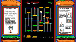Burger Time - Data East, 1982
