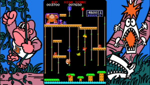 Donkey Kong Jr. - Nintendo, 1982
