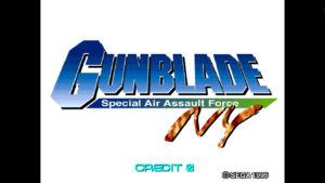 Gunblade - Sega, 1995
