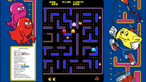 Jr. Pac-Man - Bally-Midway, 1983