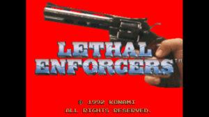 Lethal Enforcers - Konami, 1992
