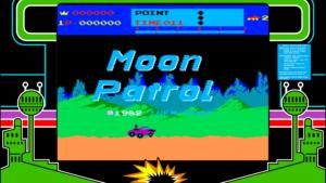 Moon Patrol - Irem, 1982
