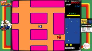 New Rally-X - Namco, 1981