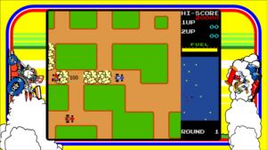 Rally X - Namco, 1980