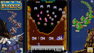 Return of the Invaders - Taito, 1985