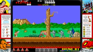Rygar - Tecmo, 1986