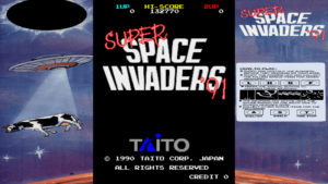 Super Space Invaders - Taito, 1990