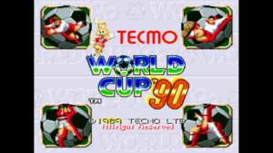 Tecmo World Cup '90 - Tecmo, 1989