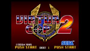 Virtua Cop 2 - Sega, 1995