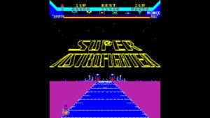 Super Astro Fighter - Data East, 1981