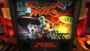 Attack from Mars (Bally, 1995)