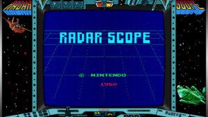 Radar Scope - Nintendo, 1980