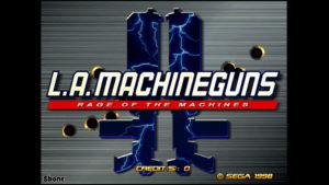L.A. MachineGuns - Sega, 1995