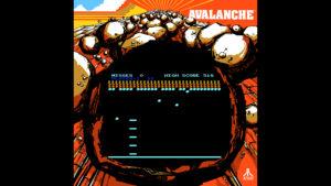 Avalanche - Atari, 1978